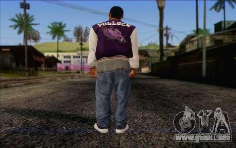 Ballas from GTA 5 Skin 2 para GTA San Andreas segunda pantalla