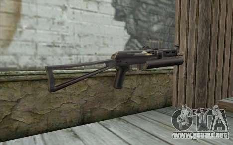 ПП-19 de Armas de fuego para GTA San Andreas segunda pantalla