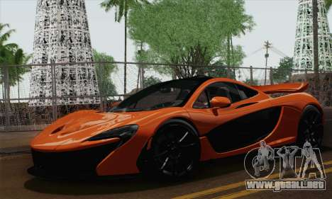 McLaren P1 Black Revel para GTA San Andreas