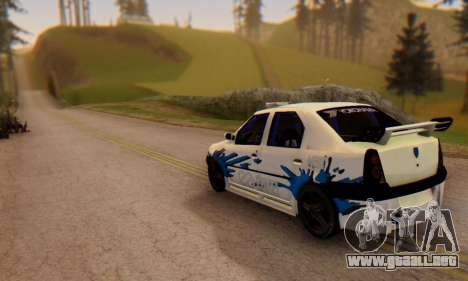 Dacia Logan Tuning para GTA San Andreas left