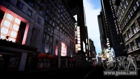 FaveENB para GTA 4 adelante de pantalla