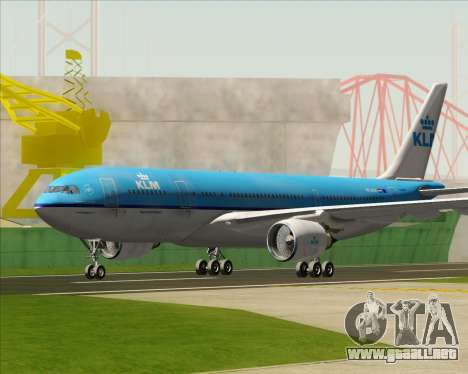 Airbus A330-200 KLM - Royal Dutch Airlines para GTA San Andreas left