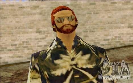 Vercetti Gang from GTA Vice City Skin 2 para GTA San Andreas tercera pantalla