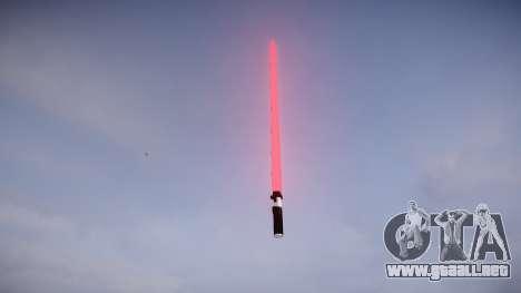 Espada láser para GTA 4