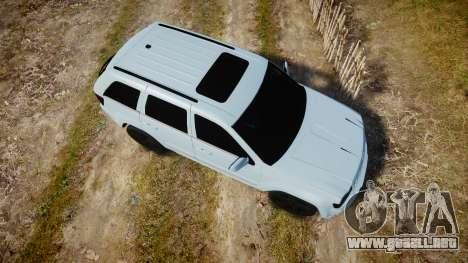 Jeep Grand Cherokee SRT8 stock para GTA 4 visión correcta