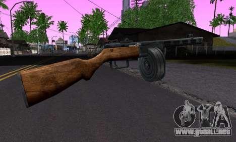 Pistola De Shpagina para GTA San Andreas segunda pantalla