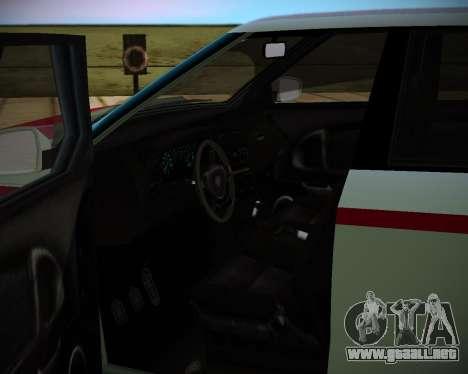 Huntley S para GTA San Andreas vista posterior izquierda