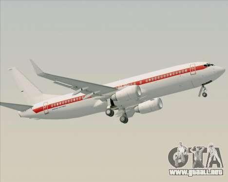 Boeing 737-800 EG&G - Janet para el motor de GTA San Andreas