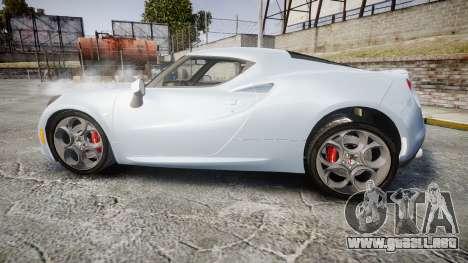 Alfa Romeo 4C para GTA 4 left