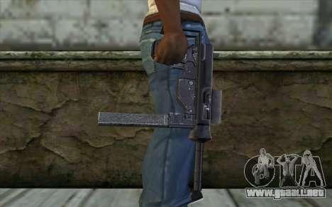 Grease Gun from Day of Defeat para GTA San Andreas tercera pantalla