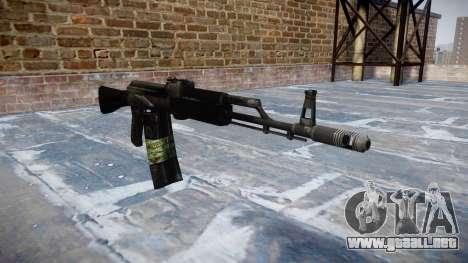 Kalashnikov 101 para GTA 4