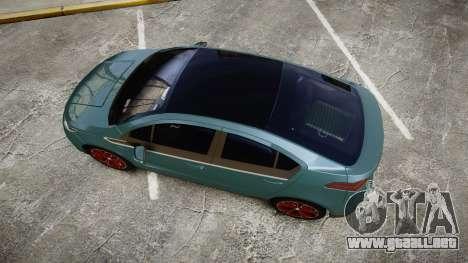 Chevrolet Volt 2011 v1.01 rims2 para GTA 4 visión correcta