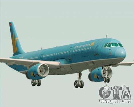 Airbus A321-200 Vietnam Airlines para GTA San Andreas