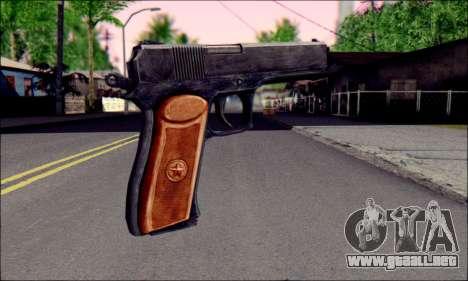 OTS-33 Maza para GTA San Andreas segunda pantalla