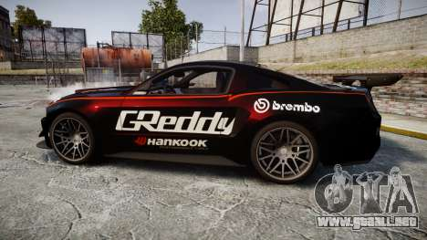 Ford Mustang GT 2014 Custom Kit PJ4 para GTA 4 left