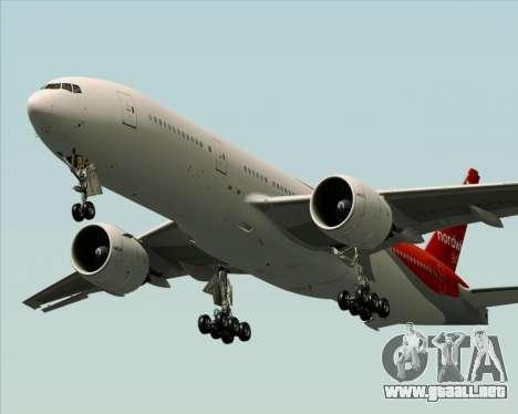 Boeing 777-21BER Nordwind Airlines para el motor de GTA San Andreas