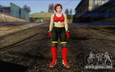 Mila 2Wave from Dead or Alive v8 para GTA San Andreas