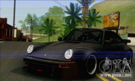 Porsche 930 Turbo Look 1985 Tunable para GTA San Andreas interior