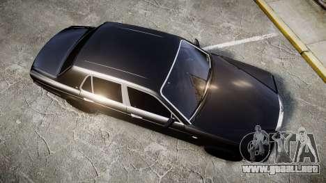 Bentley Arnage T 2005 Rims2 Chrome para GTA 4 visión correcta