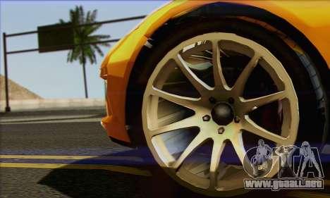 Invetero Coquette para GTA San Andreas vista posterior izquierda