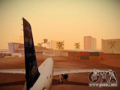 Airbus A321-232 jetBlue Whole Lotta Blue para GTA San Andreas