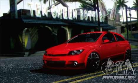 Opel Astra OPC para GTA San Andreas