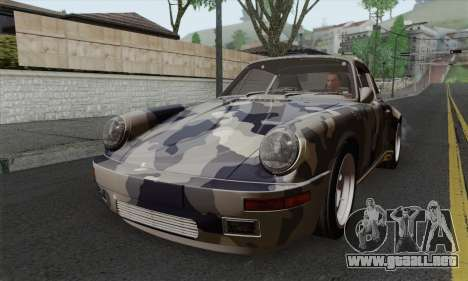 RUF CTR Yellowbird 1987 Tunable para visión interna GTA San Andreas