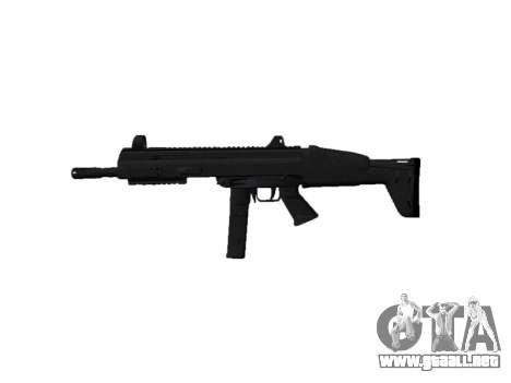 Pistola de SMT40 con la culata icon2 para GTA 4 tercera pantalla