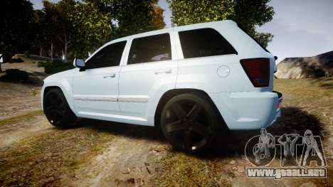 Jeep Grand Cherokee SRT8 stock para GTA 4 left