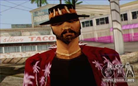 Cartel from GTA Vice City Skin 1 para GTA San Andreas tercera pantalla