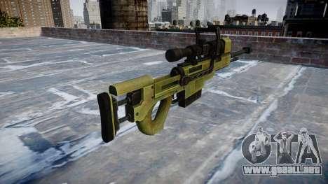 De gran calibre, rifle de francotirador para GTA 4 segundos de pantalla