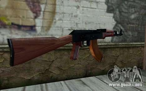 АКМ de la Mitad de la Vida de la Paranoia para GTA San Andreas segunda pantalla