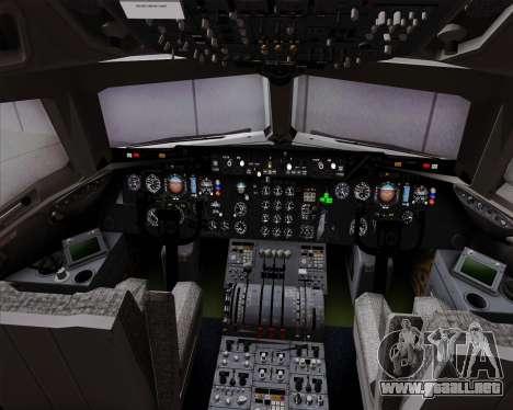 McDonnell Douglas DC-10-30 VARIG para GTA San Andreas interior