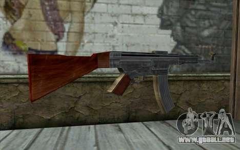 StG-44 from Day of Defeat para GTA San Andreas segunda pantalla