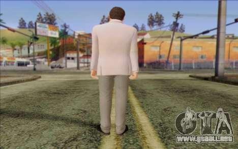 Michael from GTA 5 para GTA San Andreas segunda pantalla