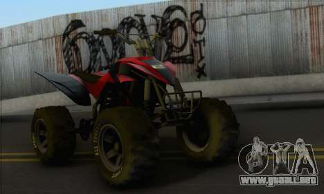 Quad from GTA 5 para GTA San Andreas