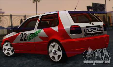 Volkswagen Golf Mk3 para GTA San Andreas left