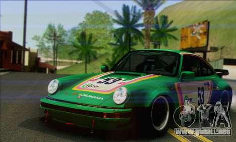 Porsche 930 Turbo Look 1985 Tunable para vista inferior GTA San Andreas