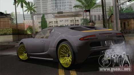 GTA 5 Adder (IVF) para GTA San Andreas left