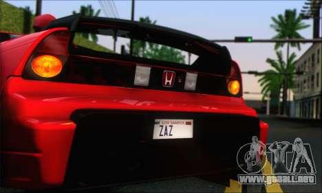 Honda NSX 2005 para GTA San Andreas left