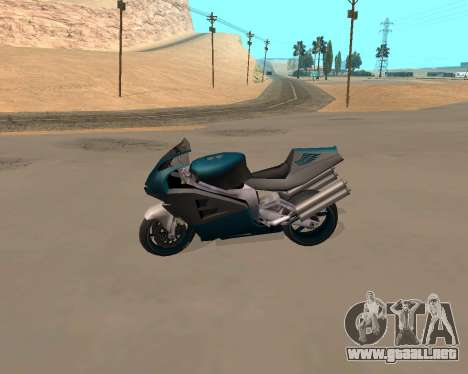 NRG-500 Winged Edition V.1 para vista lateral GTA San Andreas