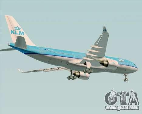 Airbus A330-200 KLM - Royal Dutch Airlines para el motor de GTA San Andreas