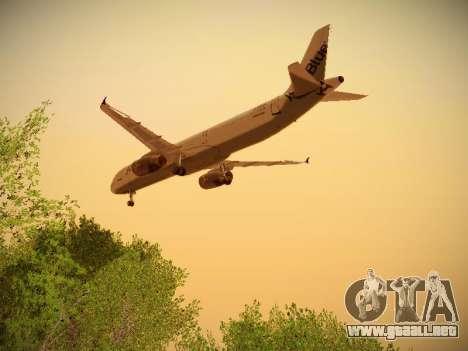 Airbus A321-232 jetBlue I love Blue York para visión interna GTA San Andreas