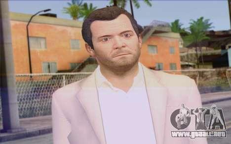 Michael from GTA 5 para GTA San Andreas tercera pantalla