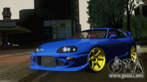 Toyota Supra Twin Turbo para GTA San Andreas