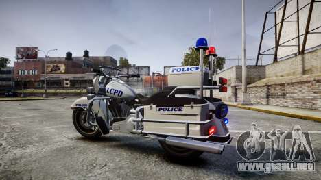 GTA V Western Sovereign LCPD [ELS] para GTA 4 left