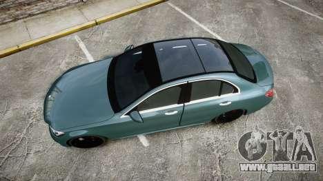 Mercedes-Benz C250 para GTA 4 visión correcta