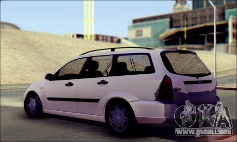 Ford Focus 1998 Wagon para GTA San Andreas left