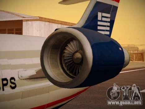 Bombardier CRJ-700 US Airways Express para las ruedas de GTA San Andreas