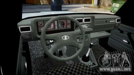 VAZ-2104 hooligan estilo de azerbaiyán para GTA 4 vista interior